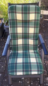 8 Matching Lawn Chair Cushions in Spangdahlem, Germany