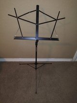 Music stand in Kingwood, Texas