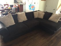 Leather microfiber couch in Fort Leonard Wood, Missouri