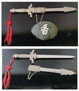 Home decoration Dagger and incense stone in Lakenheath, UK