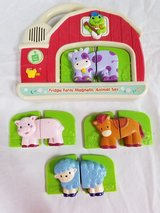 Free Fridge Farm Magnetic Animal Sets Puzzle Works (Electronics Don't Work, but might be fixable) in Batavia, Illinois