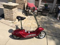 Electric Red Scooter - New Batteries in Batavia, Illinois