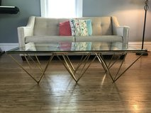 Z Gallery Gold Coffee Table (Originally $699) in Morris, Illinois