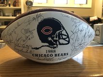 1988 Chicago Bears Autographed Wilson Football - Stamped Signatures in Batavia, Illinois