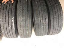 USED RV TIRES 245/75/19.5 Dunlap in Spring, Texas