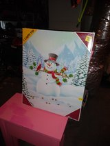 light up snowman canvas picture in Fort Campbell, Kentucky