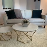 coffee table modern style set of 2 pc in Bellaire, Texas