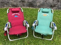 Tommy Bahama Backpack Cooler Beach Chairs in Okinawa, Japan
