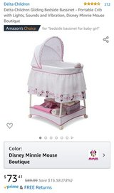 Delta Minnie Mouse Bassinet in Camp Lejeune, North Carolina