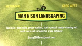 MAN AND SON LANDSCAPING in Beaufort, South Carolina