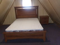 Queen Bed with Night Stand in Fort Leonard Wood, Missouri