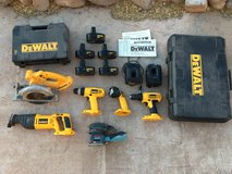 Dewalt Tool Set and Bosch Sander in Alamogordo, New Mexico