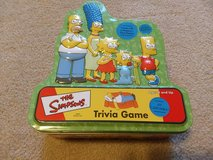 The Simpsons Trivia Game from 2000 in Collector's Tin - Good Condition in Kingwood, Texas