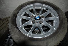 bmw 1 series alloy wheels and tyres x 4 in Lakenheath, UK