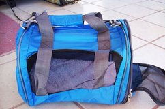 Small Brand New Blue Dog Carrier in Alamogordo, New Mexico