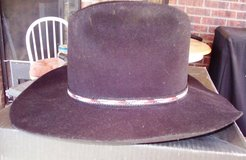 Baily Black Felt Hat In Box. Size 7& ¼ in Alamogordo, New Mexico