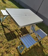 Camping  table w/chairs in Ramstein, Germany