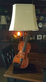 Fiddle/Violin Table Lamp in The Woodlands, Texas