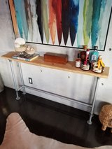 Live Edge Console Table in Okinawa, Japan