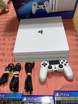 brand new Ps4 pro white with two controllers in Ansbach, Germany