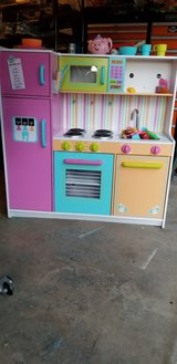 Kid's Play Kitchen / Food and a few dishes - First Come. First Serve. Free delivery in COS with ... in Fort Carson, Colorado