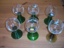 Six Wine Glasses in Ramstein, Germany
