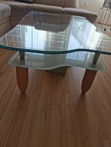 Glass coffee Table in Ramstein, Germany