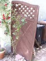 wooden fence panel, posts, hardware in Ramstein, Germany