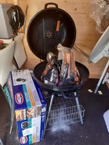 Kingsford charcoal grill set in Ramstein, Germany