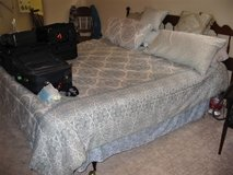 FREE CA King Size Bed w Bedding and Pillows in Fort Campbell, Kentucky