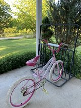 bikerack and bike in Fort Leonard Wood, Missouri