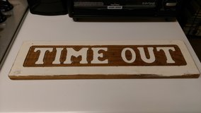 """""""Time Out"""" sign in Warner Robins, Georgia"""