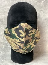 Camouflage fabric mask in Ramstein, Germany
