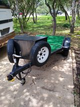 4x8 custom trailer for cycle or whatever in Lackland AFB, Texas