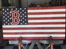 Boston Red Sox Commemoration Flag in Beaufort, South Carolina