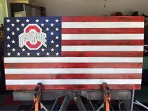Ohio State Football Commemoration Flag in Beaufort, South Carolina