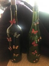 Decorative Wine Bottles with Fairy Lights in Quantico, Virginia