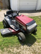 Riding Mower in Fort Riley, Kansas