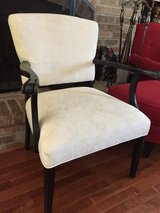 White and Black Antique Side Chair in Joliet, Illinois