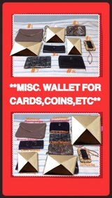 GREAT VARIETY OF WALLET FOR CARD,COINS,ETC*# 3** in Okinawa, Japan