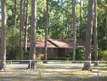 Brick home with 2 + 1/2 acres near Valdosta in Moody AFB, Georgia