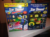 2 Star Shower Laser Lights in Clarksville, Tennessee