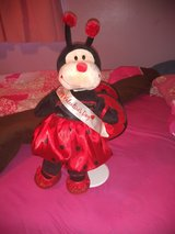 Valentine's build a bear ladybug with stand in Clarksville, Tennessee