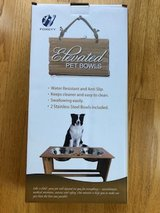 ELEVATED PET BOWLS FOR SMALL - MEDIUM SIZED DOGS/CATS in Glendale Heights, Illinois