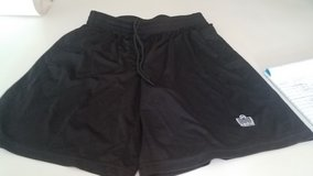 Boy's Admiral Black Soccer Shorts, Size M in Naperville, Illinois