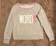 Aeropostale Wide Neck Sweatshirt, Sz S in Fort Campbell, Kentucky