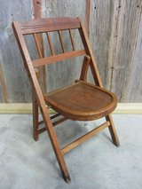 Vintage Child (?) Folding Chair - Very rare! in Pearland, Texas