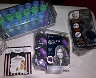 Hair curlers lot in Spring, Texas