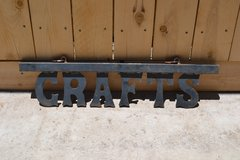 CRAFTS metal sign in Alamogordo, New Mexico