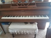 Piano in Fort Lewis, Washington